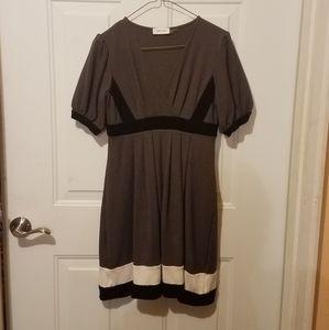 Calvin Klein size 6 gray dress